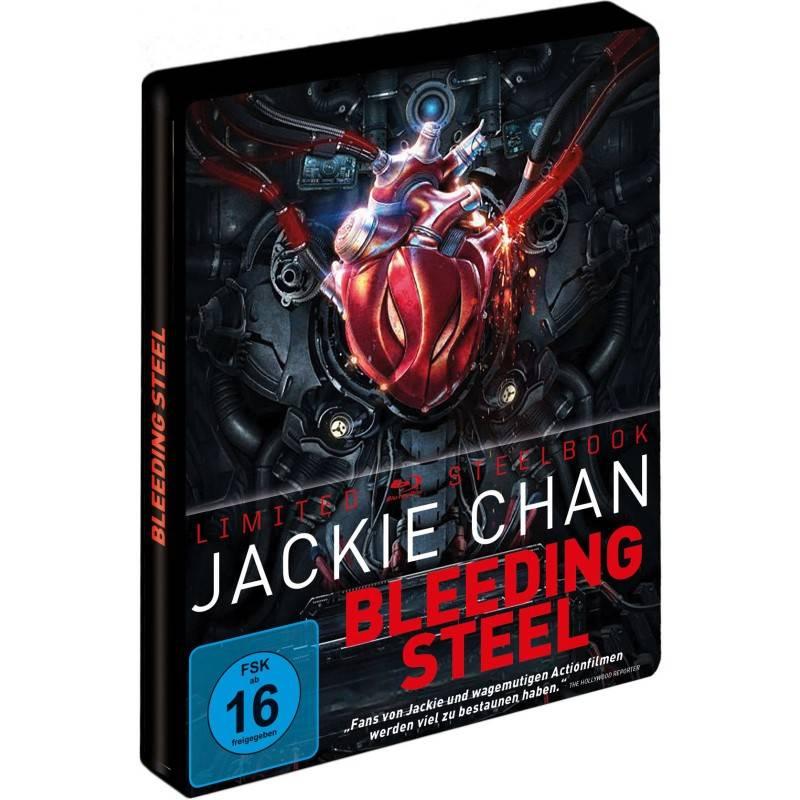 Bleeding Steel Blu-Ray Jackie Chan LIMITED Steelbook NEU