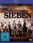 Die glorreichen Sieben Blu-Ray - Yul Brynner, Steve McQueen
