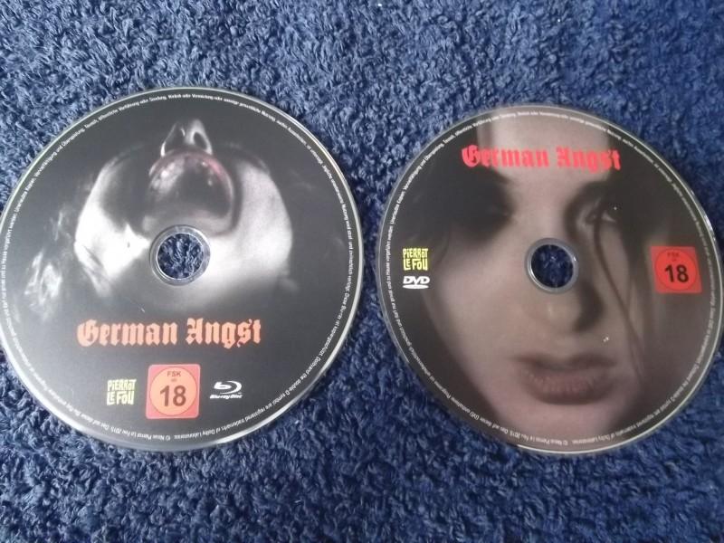 GERMAN ANGST UNCUT BLU-RAY / DVD LIMITED MEDIABOOK + POSTER