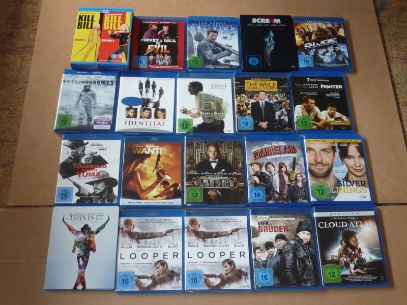Blu Ray Sammlung / Paket (36 Filme) Expendables etc.