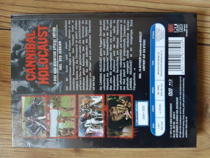 Cannibal Holocaust- Mediabook!!