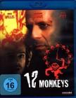 12 MONKEYS Blu-ray - Bruce Willis Brad Pitt - Terry Gilliam