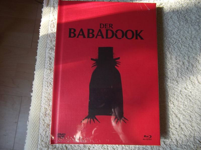 DER BABADOOK UNCUT DVD / BLU-RAY 2 - DISC MEDIABOOK NEU/OVP