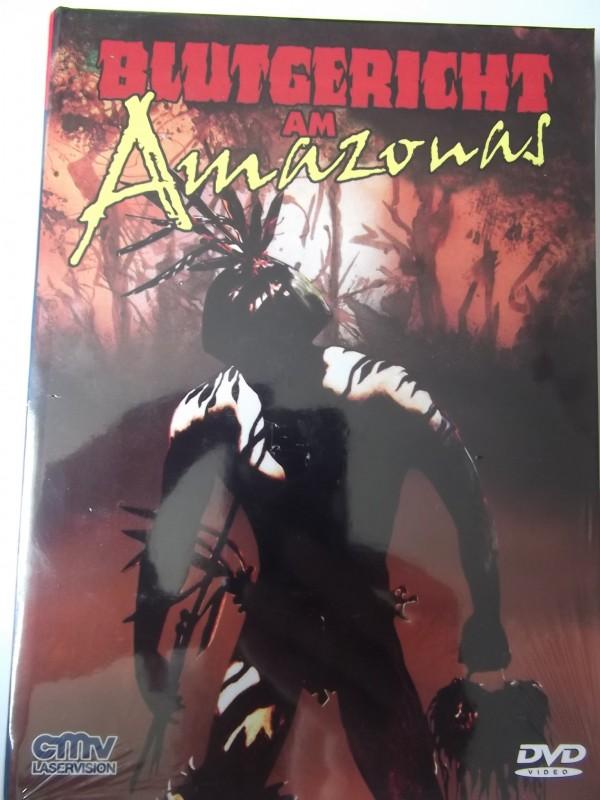 BLUTGERICHT AM AMAZONAS UNCUT DVD HARTBOX NEU / OVP