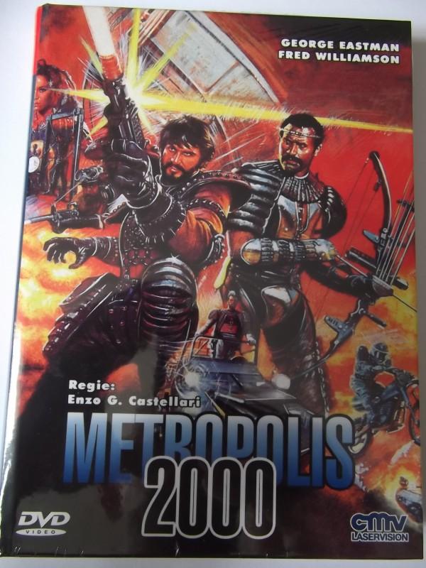 METROPOLIS 2000 UNCUT DVD HARTBOX NEU / OVP