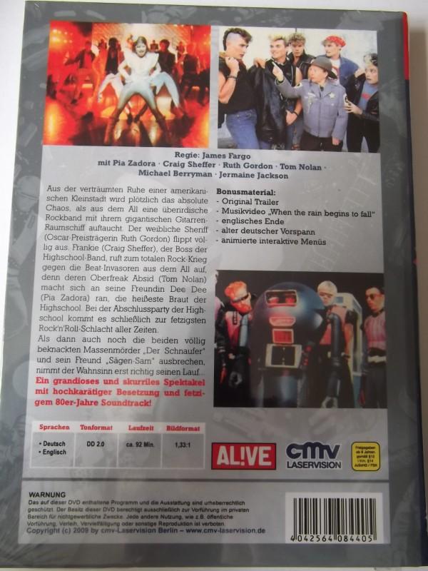 ROCK ALIENS UNCUT DVD HARTBOX NEU / OVP