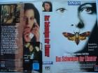 Das Schweigen der Lämmer ... Jodie Foster  ...  VHS