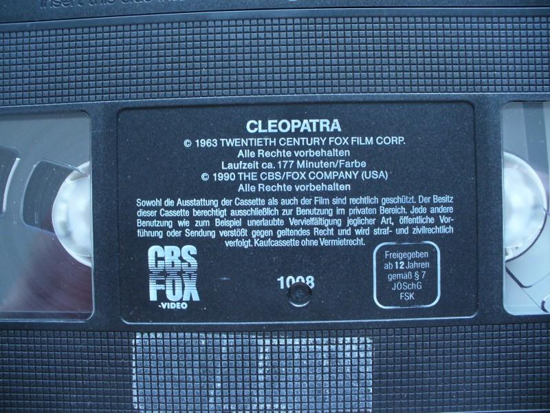 Cleopatra ... Elizabeth Taylor, Richard Burton... ohne Cover