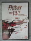Friday the 13th III NL IMPORT deutscher Ton