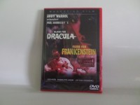 Blood for dracula-Flesh for Frankenstein-  DVD (x)