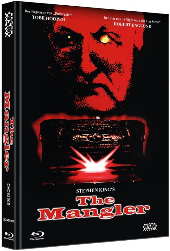 The Mangler - Mediabook B (Blu Ray+DVD) NEU/OVP