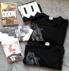 Games T-Shirt Paket Gr.L DOOM, Gears of War, The Evil Within