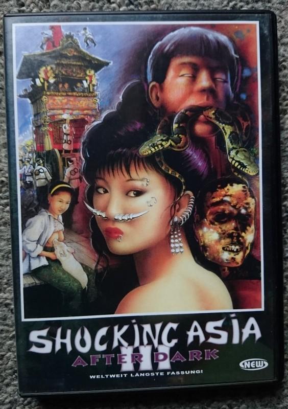 Shocking Asia III After Dark UNCUT Horror DVD