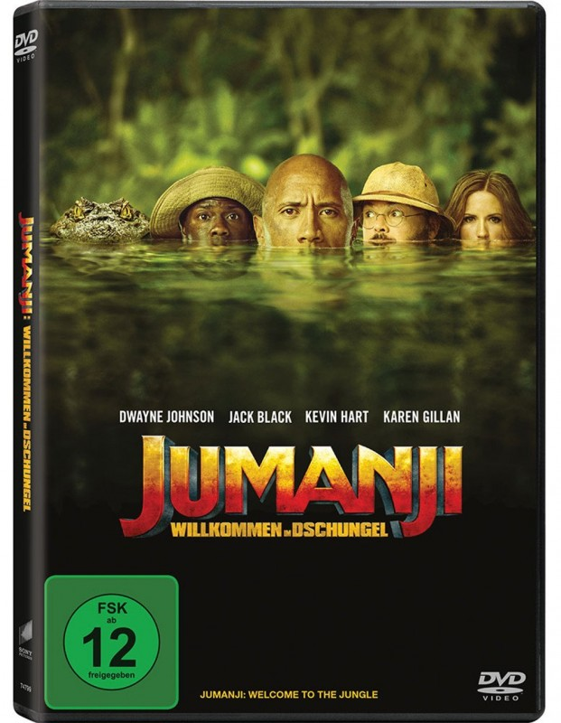 Jumanji  ( DWayne Johnson ) ( Neu 2018 )
