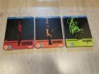 Rambo Trilogie Blu-ray Steelbook New & OVP, RARE