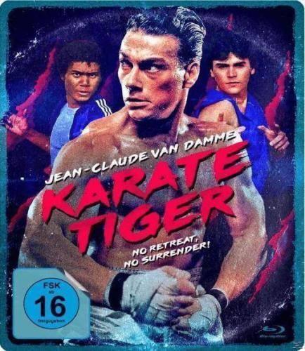 Karate Tiger Van Damme Limited Blu-Ray Steelbook NEU