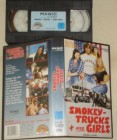 Smokey Trucks + Irre Girls VHS Greg Evigan Rarität