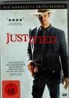 Justified - Season 1 (die komplette erste Staffel) 3 DVDs