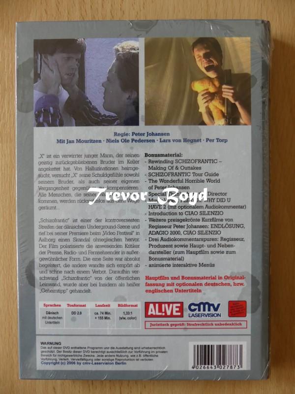 Schizofrantic (kl. Hartbox) (Uncut) NEU+OVP