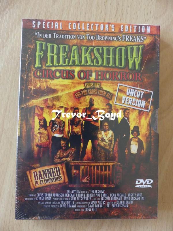 Freakshow - Circus of Horror (Uncut) NEU+OVP