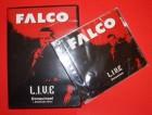 FALCO - L.I.V.E. Donauinsel DVD + CD