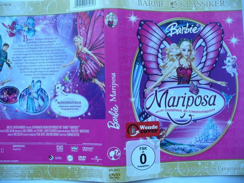 Barbie - Mariposa  ...  DVD !!!