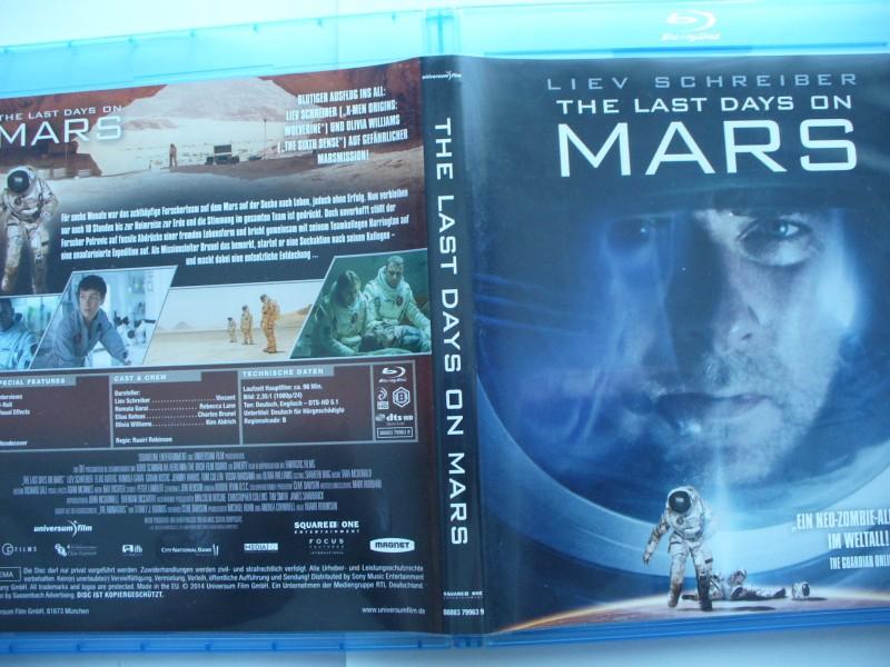 The Last Days On Mars ... Liev Schreiber ...  Blu - ray !!!
