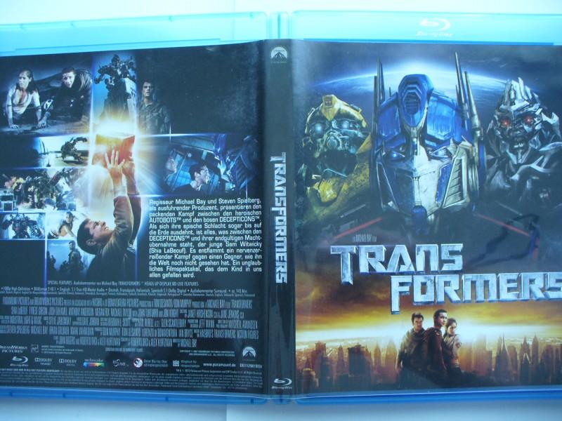 Transformers ...  Blu - ray  !!!