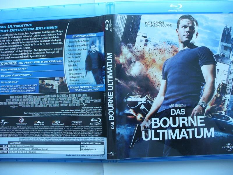 Das Bourne Ultimatum ...  Matt Damon ...  Blu - ray  !!!