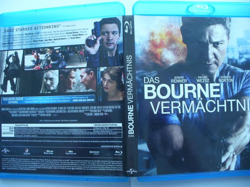 Das Bourne Vermächtnis ...  Jeremy Renner ... Blu - ray !!!