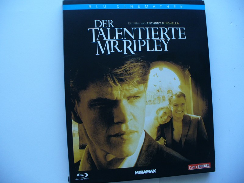 Der talentierte Mr. Ripley ... Matt Damon ... Blu -  ray !!