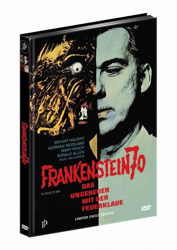 Frankenstein 70 - DVD Mediabook A Lim 50 OVP
