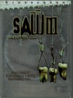 SAW III (Unrated, 113 min., uncut) US Import, OF, Schuber