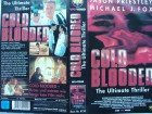 Cold Blooded ... Michael J. Fox, Jason Priestley   ...  VHS