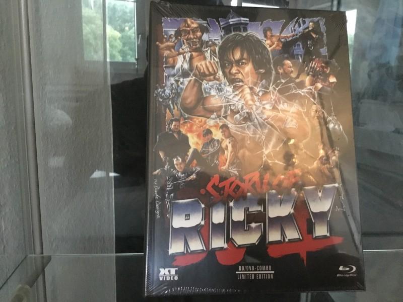 Story of Ricky Blu Ray Mediabook Nr.888/888 OVP! XT