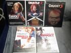 Chucky die mörderpuppe  dvd sammlung 1,2,3,5,6