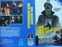 Die Nacht der Generale ... Peter O´Toole, Omar Sharif .. VHS