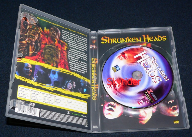 Shrunken Heads DVD - Uncut -