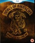 Sons of Anarchy - Season 1 & 2 - uncut, OF - 6 x Blu Ray
