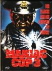 Maniac Cop 3 NSM Mediabook Cover A Limiert Uncut Ovp