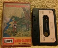 Rotkäppchen Europa Hörspiel Kassette Erstausgabe MC