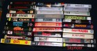 30 VHS - Videokassetten - Horror, Action, Eastern -