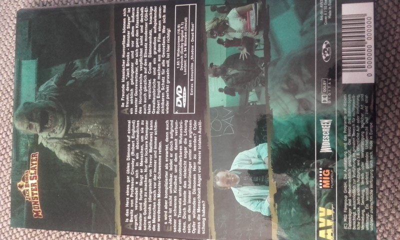 Jack Brooks Monster Slayer             grosse AVV Hartbox