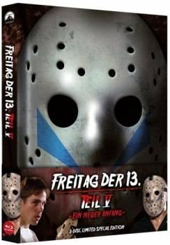 FREITAG DER 13. - TEIL 5 - 3-DISC MEDIABOOK - UNCUT - OVP!