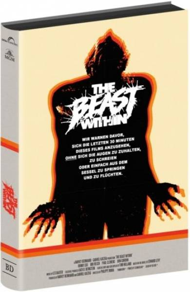 THE BEAST WITHIN - 3-DISC-EDITION - HARTBOX - UNCUT