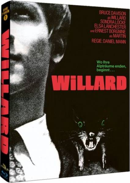 WILLARD - DVD+BLU-RAY - MEDIABOOK - UNCUT - OVP!!!