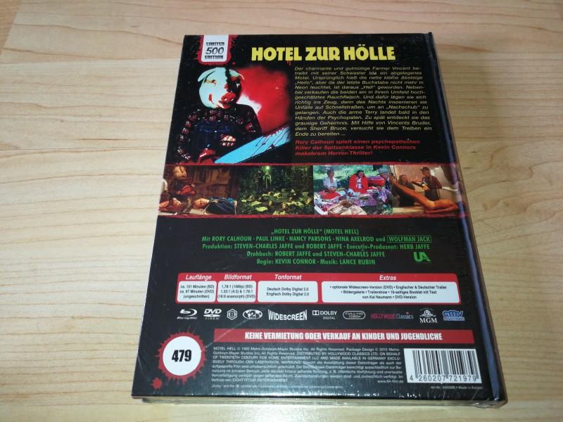 Hotel zur Hölle A Mediabook OVP 84 479/500