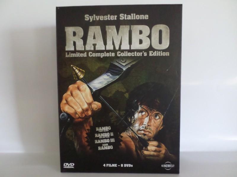 Rambo Limited Complete Collectors Edition Box (x)