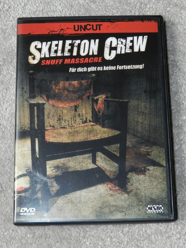 Skeleton Crew - Snuff Massacre - DVD - uncut