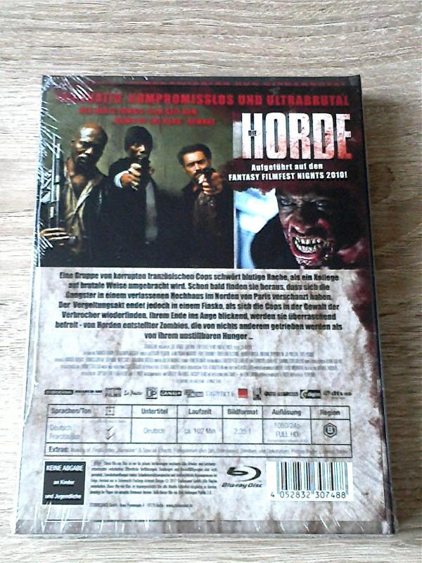 DIE HORDE (ZOMBIE) LIM.MEDIABOOK D (500 STCK.) OVP - UNCUT